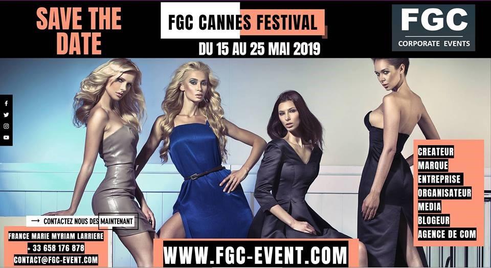 Festival de Cannes – Cassandra Le Maistre du 17 au 19 mai 2019