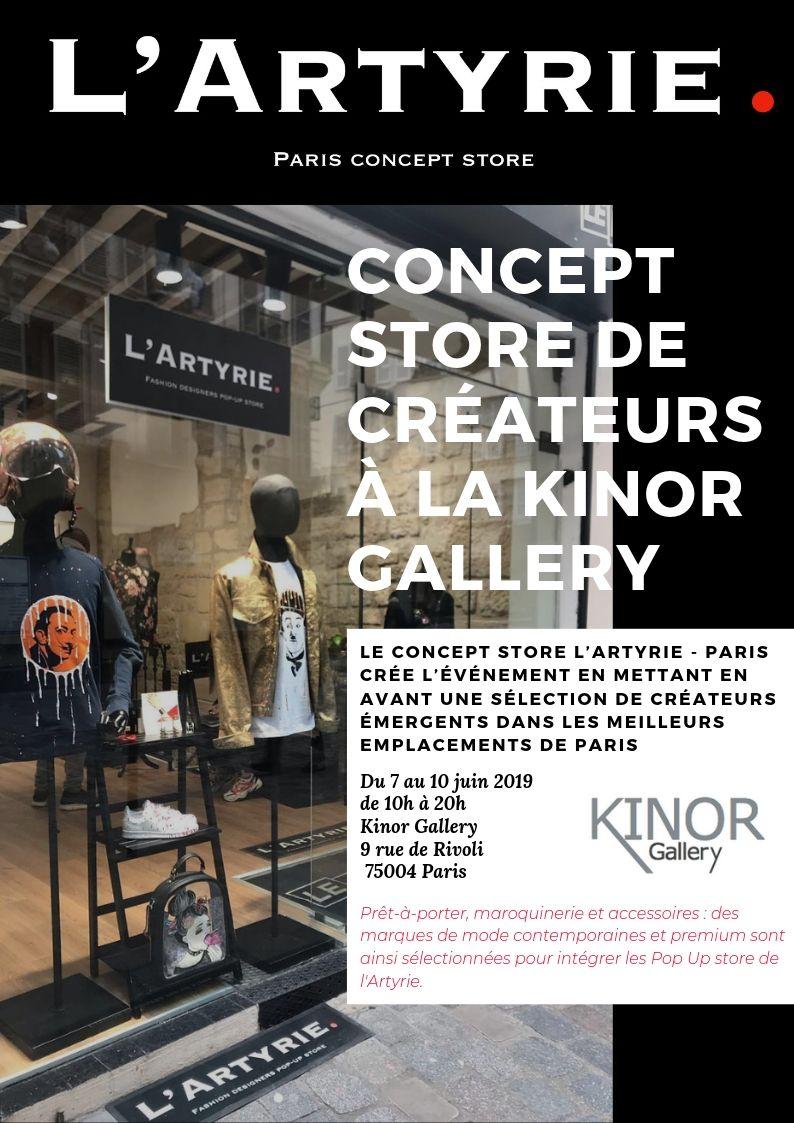 Cassandra Le Maistre du 7 au 10 juin à Paris !